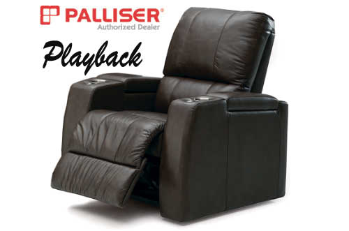 sc 1 st  Discount Leather Chairs & Palliser Playback - Home Theater Chairs