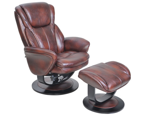 sc 1 st  Discount Leather Chairs & BarcaLounger 8022 Roma II Leather Swivel Recliner and Ottoman Set islam-shia.org