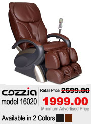 Cozzia 16020 Shiatsu Massage Chair