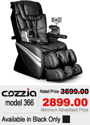 Cozzia 366 Shiatsu Massage Chair