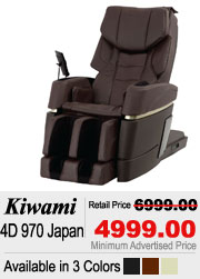 Kiwami 4D 970 Japan Shiatsu Massage Chair