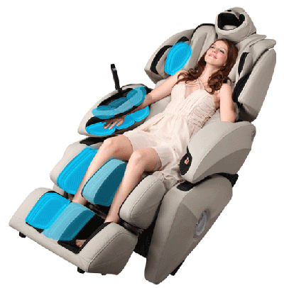 46 air bags are installed in for the head shoulders arms hands legs thighs and feet to massage the lower half of the body to promote stimulation of - Osaki Os4000
