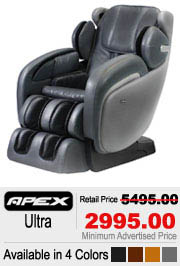 Apex Ultra Shiatsu Massage Chair