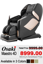 Osaki OS Maestro Shiatsu Massage Chair