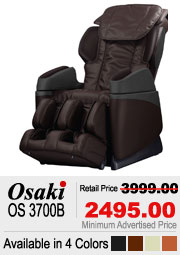 Osaki OS 3700B Shiatsu Massage Chair