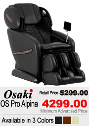 Osaki OS Alpina Shiatsu Massage Chair
