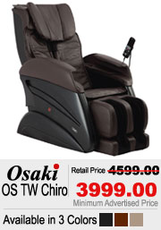 Osaki OS Chiro Shiatsu Massage Chair