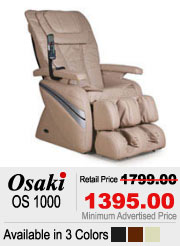 Osaki OS 1000 Shiatsu Massage Chair