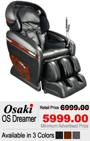 Osaki OS Dreamer Pro 3D Shiatsu Massage Chair