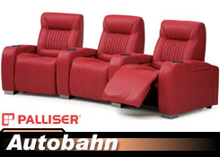 Palliser Autobahn 41954/46954 Home Theater Chairs
