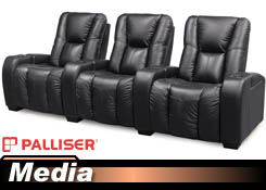 Palliser Media 41402/46402 Home Theater Chairs