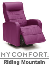 Palliser Riding Mountain My Comfort Swivel Rocker Reclier