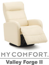 Palliser Valley Forge II My Comfort Swivel Rocker Reclier