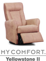 Palliser Yellowstone II My Comfort Swivel Rocker Reclier