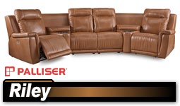 Palliser Riley 41055 Sectional  sc 1 st  Discount Leather Chairs : palliser leather sectional - Sectionals, Sofas & Couches