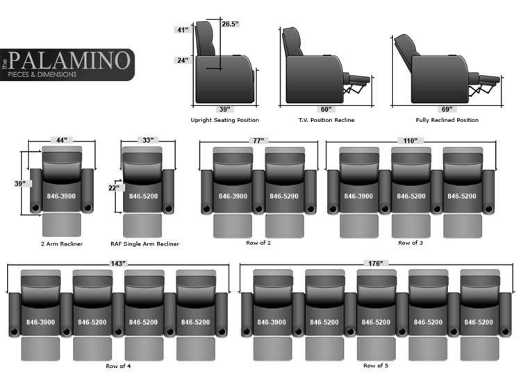 Seatcraft Palamino Reclining Sofas And Loveseats In Leather