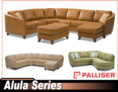Palliser Alula 77427 Sectional