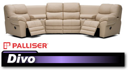 Palliser Divo 41045/46045 Sectional