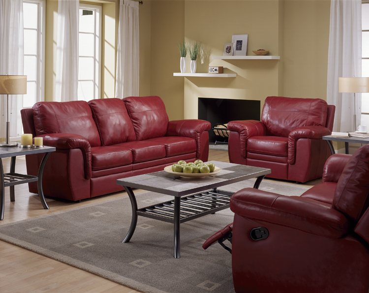 palliser brunswick reclining sofas and loveseats in leather microfiber - Palliser Furniture