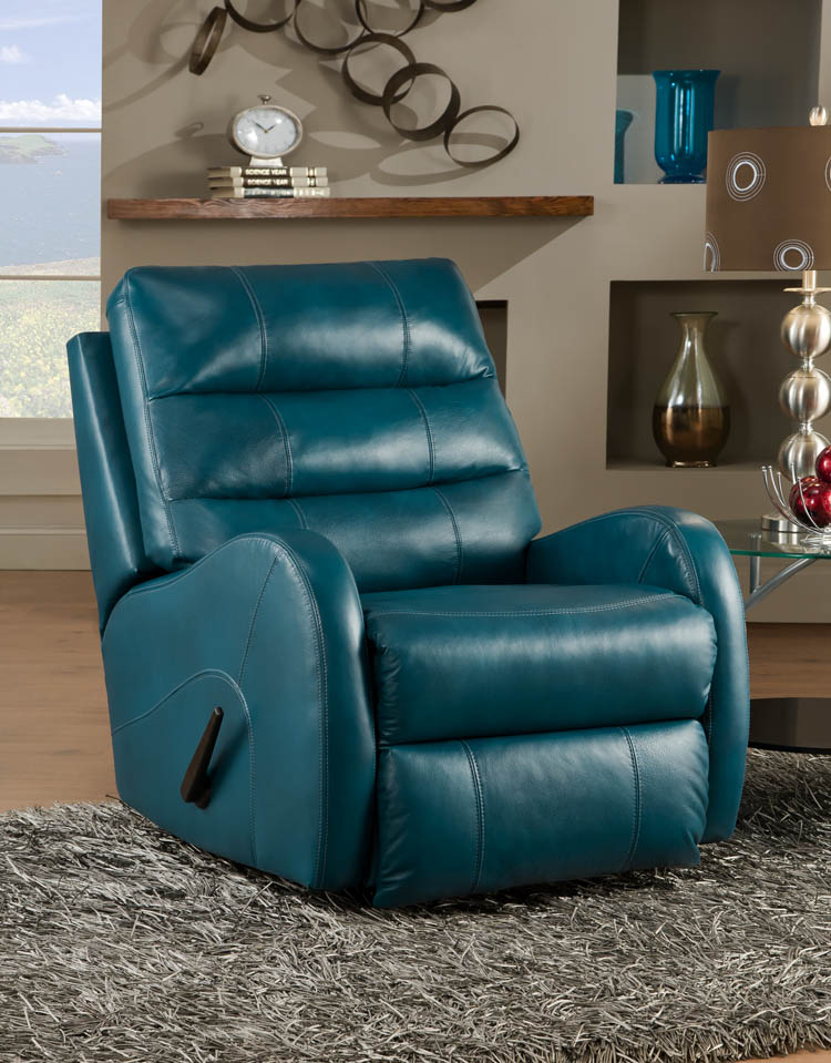American Made 585 Wonderlund Reclining Chair In Leather Or