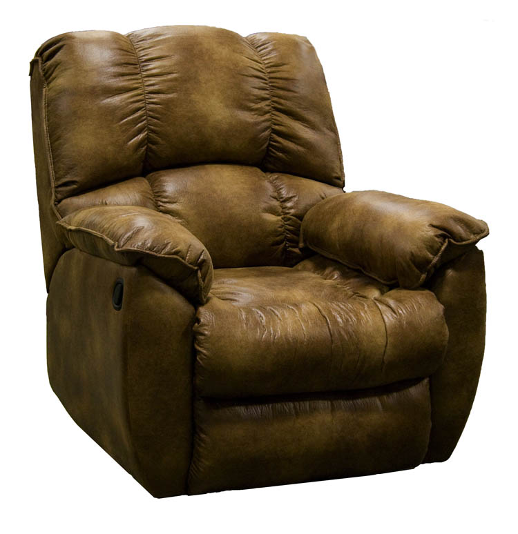 American Made 739 Wescott Reclining Chair In Leather Or