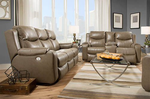 Southern Motion 881 Marvel Reclining Sofas and Loveseats in Leather or Microfiber & Southern Motion 881 Marvel Reclining Sofas and Loveseats in ... islam-shia.org