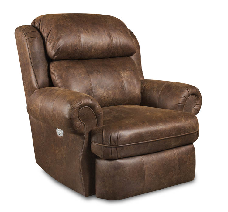 American Made 885 Freedom Ii Recliner In Leather Or Microfiber