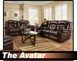 Southern Motion Avalon Sofa Space Saving Wall Hugger Recliner