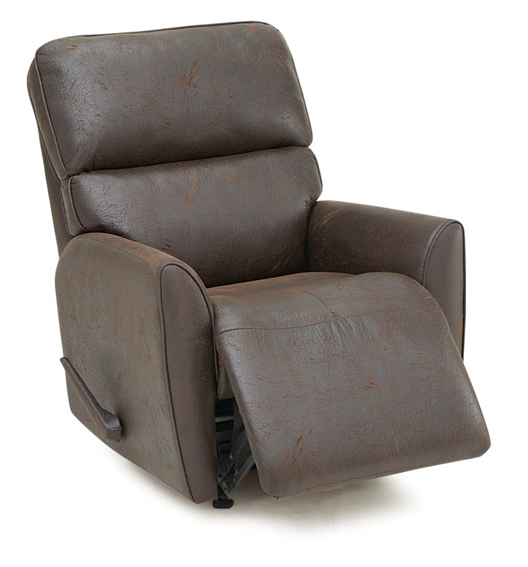 Palliser markland traditional leather recliner for Lift furniture to second floor
