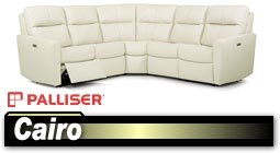 Palliser Cairo 40132 Sectional