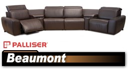 Palliser Beaumont 41637 Sectional