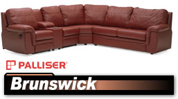 Palliser Brunswick 40620 Sectional