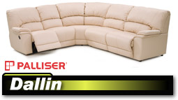 Palliser Dallin 41180 Sectional