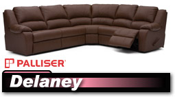 Palliser Delaney 41040 Sectional