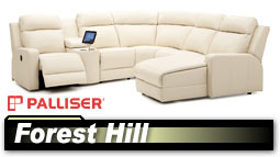 Palliser Forest Hill 41032 Sectional