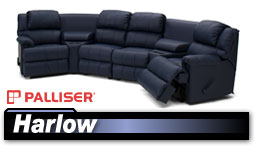 Palliser Harlow 41110 Sectional