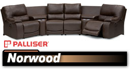 Palliser Norwood 41031 Sectional