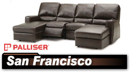 Palliser San Francisco 41120 Sectional