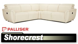 Palliser Shorecrest 41639 Sectional