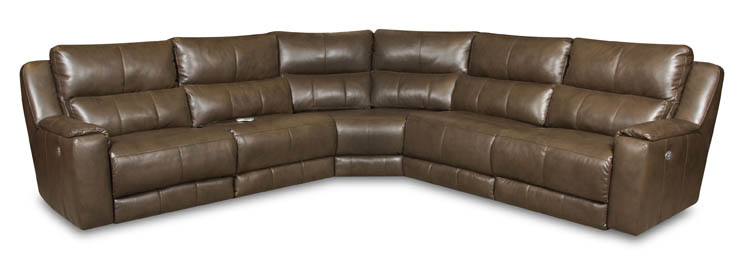 American Made 883p Dazzle Reclining Sofa Sectional In Leather Or