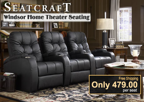 Seatcraft Home Theater Seating Home Theater Seats And